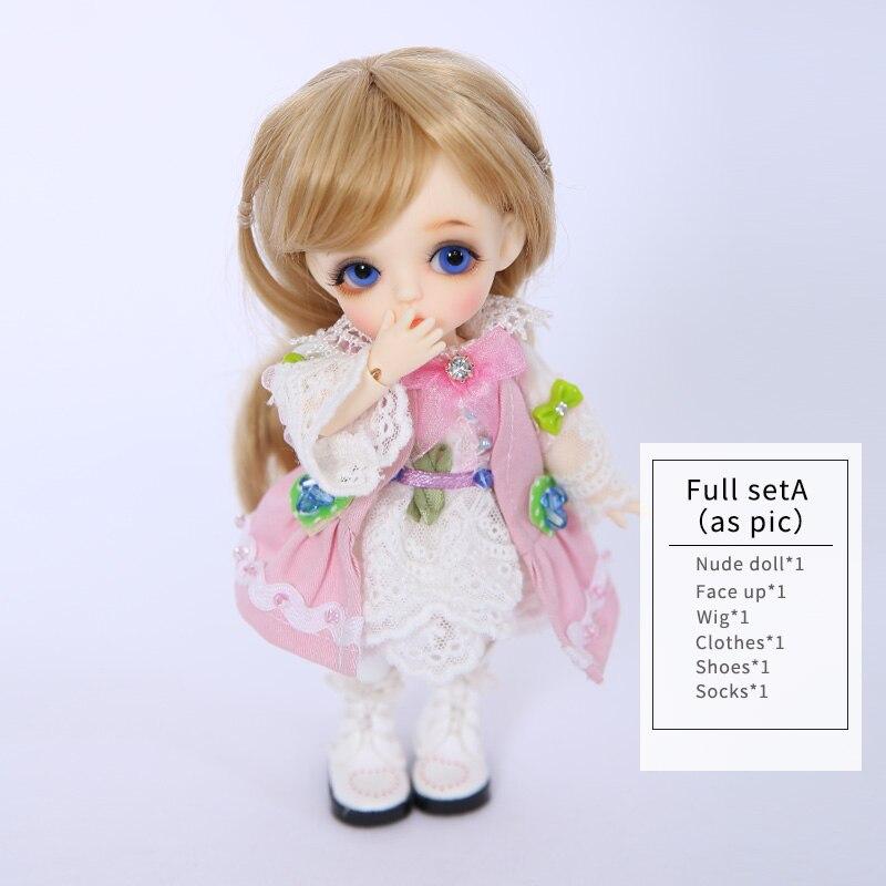 Lati Giallo S. belle 1/8 BJD SD Bambola Figure In Resina Modello Del Corpo Del Bambino Delle Ragazze Dei Ragazzi Giocattoli Occhi di Alta Qualità di Modo FANTANSY ANGELO - 5