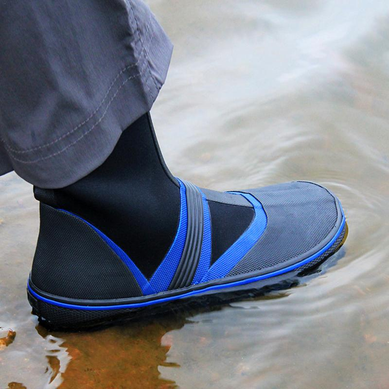 Fishing Shoes Sea Water Nail Shoes Rain Boots Non slip Felt Bottom Fishing Shoes Gear for