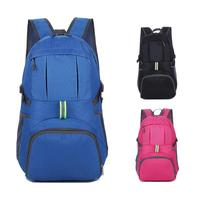73a2bf55d9d 35L Large Capacity Folding Travel Backpack Outdoor Rainproof Foldable Bag  Backpack For Hiking Camping Climbing Bike