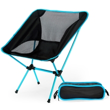 Portable Lightweight Folding Camping Chair Seat for Outdoor Fishing Hiking Leisure Picnic Beach Chair BBQ Folding Stool yleo outdoor fishing chair bag folding camping stool portable picnic bag hiking seat beach chair set fishing