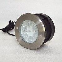 304 Stainless Steel IP68 12V 24V LED Underground Lamp Outdoor Ground Spot Buried Light laminate flooring Deck Terrace Lighting