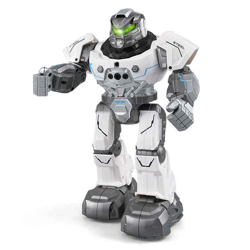 JJRC R5 шелк-кади WILI SmartWatch Интеллектуальный программирования образования RC робот Авто следовать жест Управление детские игрушки сине-белые