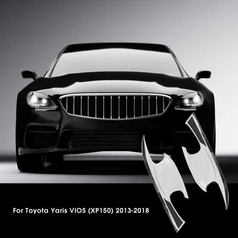 4 cái Cửa Xe ABS Xử Lý Bowl Bìa đối với Toyota Yaris VIOS XP150 2013 2014 2015 2016 2017 2018 Xe phụ kiện