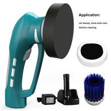 車の塗装研磨機 ワイヤレス充電美容ペイントポリッシャーツールワックスコーティングクリーニング洗車機 &