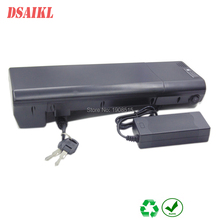 24V 10Ah 12Ah 250W Electric Bike Rear Rack Battery pack with 29.4V 2A charger