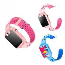 S6 смартфон часы GPRS расположение игры SOS Камера HD 1,44 дюймов Экран подарки для детей дети умные часы телефон
