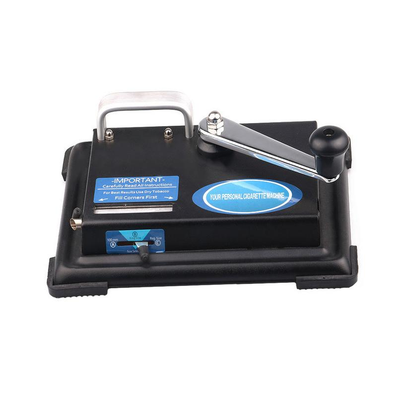 Electric Cigarette Rolling Machine Hand Operation Roller Maker Tobacco Injector Maker Roller Machine Automatic Roller