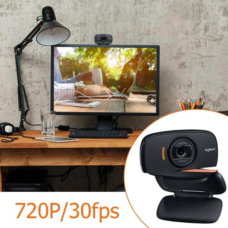 Logitech C525 HD Webcam Portable 360 rotative 720 p appel vidéo caméra Web Autofocus - 3