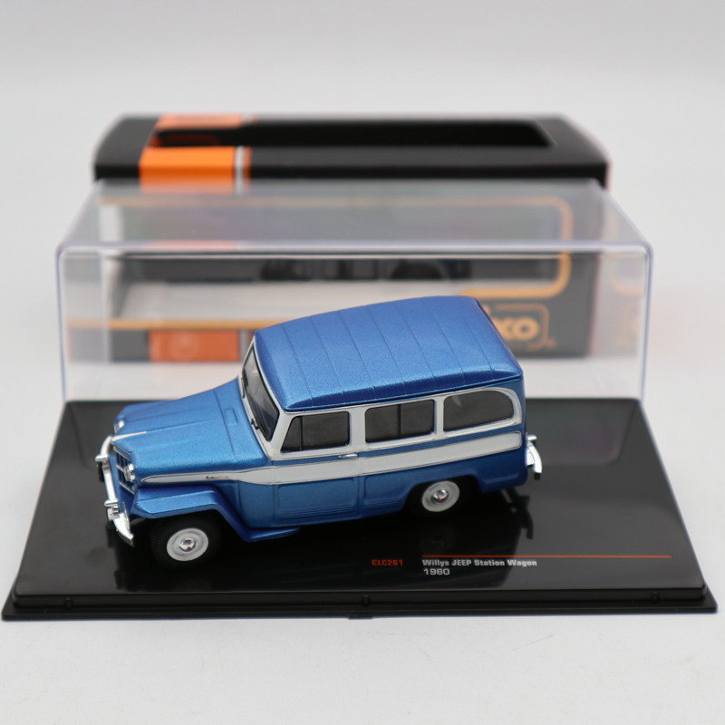 IXO 1 43 Willys Jeep Station Wagon 1960 Blue CLC261 Diecast Models Limited Edition Collection