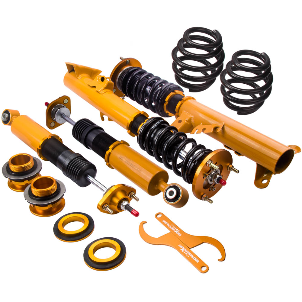 Full Assembly Coilover Suspension for BMW E36 318 325 M3 3 Series Adj. Shock 318i 318is 318ic 323i 325i Coil Strut Spring  Full Assembly Coilover Suspension for BMW E36 318 325 M3 3 Series Adj. Shock 318i 318is 318ic 323i 325i Coil Strut Spring