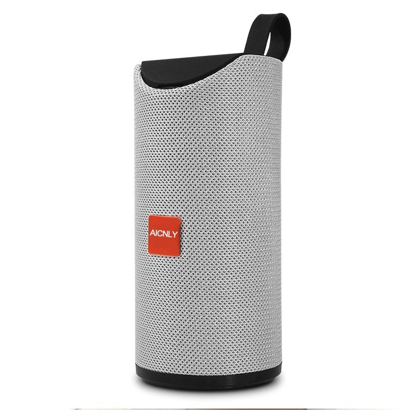 2019 Fabric Bluetooth Speaker Wireless Loudspeaker Support Aux Tf Card Radio Fm Woofer Speakers