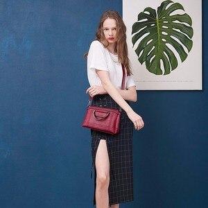 Image 3 - Женская сумка мессенджер 2019, Женская Ручная сумка, женские кожаные сумки, Высококачественная Дорожная сумка на плечо, женская сумка