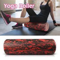 EVA Твердые пенный валик для йоги высокой твердостью массаж мышц палку валик для пилатеса Йога интимные аксессуары