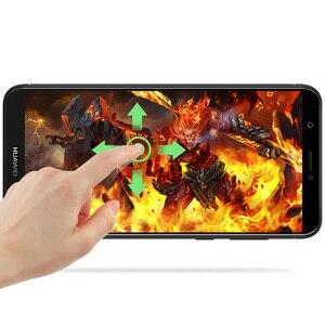 Image 4 - 3D מלא כיסוי מזג זכוכית עבור Huawei PSmart מסך מגן עבור Huawei P חכם מגן זכוכית סרט על תאנה LX1 LX2 LX3 LA1