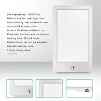 슬픈 치료 램프 3 모드 계절 애정 장애 광선 요법 램프 3 파일 디밍