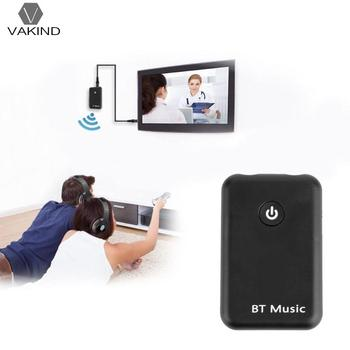 VAKIND 2 in 1 Wireless Bluetooth Transmitter Receiver Stereo Audio Music Adapter for Smart PHONE Music Parts