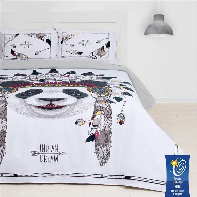 Bed Linen Ethel 2 CH Indian dream 175х215 cm, 200х220 cm, 50х70 + 3 cm-2 pcs, ранфорс 111g/m2 bed linen ethel 1 5 cn imperial 143х215 cm 150х214 cm 50х70 3 2 pcs ранфорс 111g m2