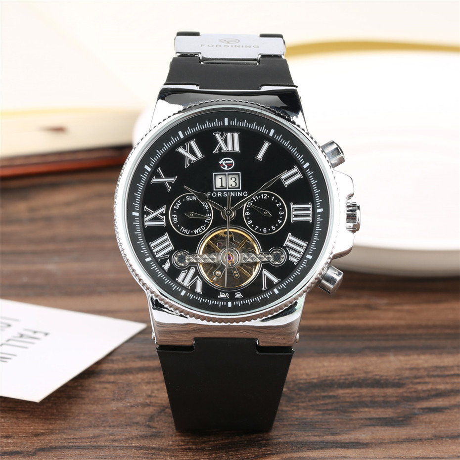 Mens Watch Top Brand Luxury Self-Winding Mechanical Wristwatch for Male Tourbillon Mens Chronograph Sport Fashion Clock relojMens Watch Top Brand Luxury Self-Winding Mechanical Wristwatch for Male Tourbillon Mens Chronograph Sport Fashion Clock reloj