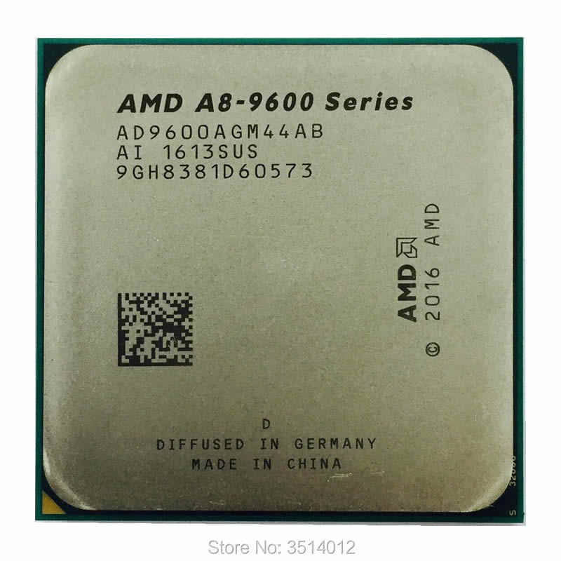 AMD A8-Series A8-9600 A8 9600 3.1 GHz 65W Quad-Core procesor cpu AD9600AGM44AB gniazdo AM4