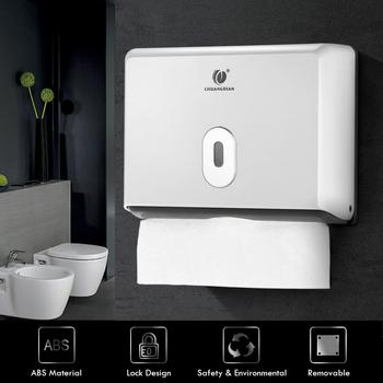 CHUANGDIAN ścienny łazienka podajnik ręczników papierowych pudełko na chusteczki do ręczników papierowych Multifold kuchnia uchwyt na papier toaletowy pudełka papierowe tanie i dobre opinie CN (pochodzenie) Europejska Wall-mounted Wall-mounted Tissue Box opakowanie na chusteczki Chusteczki do wyciągnięcia Wall-mounted Bathroom Tissue Dispenser Box