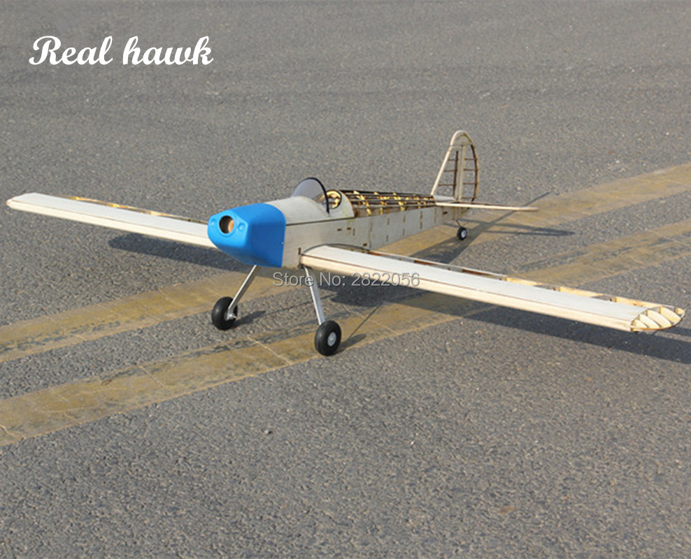 RC AirPlanes Laser Cut Balsa Wood Airplane Kit Spacewalk Frame without Cover Model Building Kit Woodiness model WOOD PLANE image