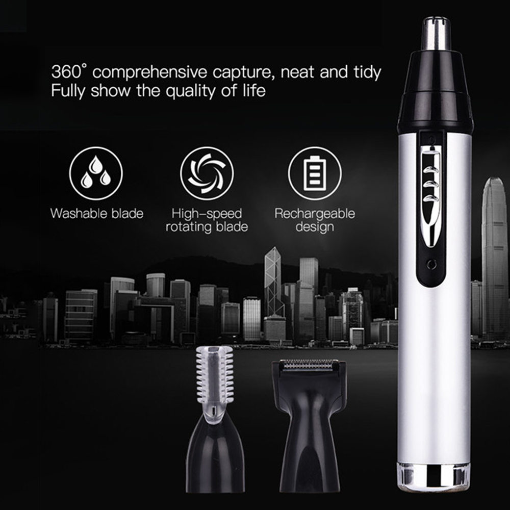 Portable Nose Clipper Ear Machine Hair Trimmer Beard Men Kit Grooming Shaving Cutting Nose & Ear Trimmer Tools