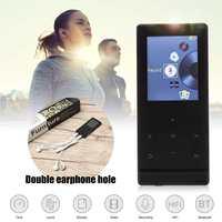 A7 8GB 1.8'' TFT altavoz Bluetooth HIFI LED Touching Screen Video FM Radio Receiver MP3 Music Player Portable 2 Earphone Output