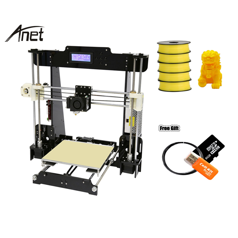 Anet A8 3D Printer High Precision 3D Metal Printer for Sale From China 3d Printer Original