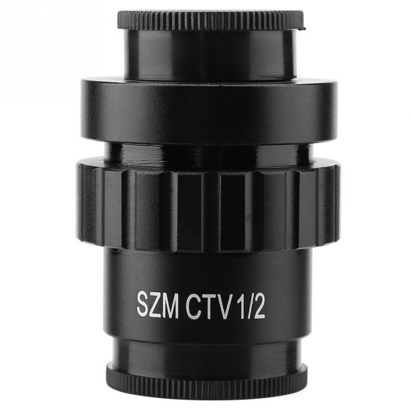 0.5x c-mount objectif objectif 1/2 CTV adaptateur pour SZM vidéo numérique caméra trinoculaire stéréo Micr nouveau