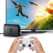 Мини BT беспроводной контроллер геймпад для Nintend переключатель с NFC двойной вибрации функция игровой контроллер для Nintend переключатель