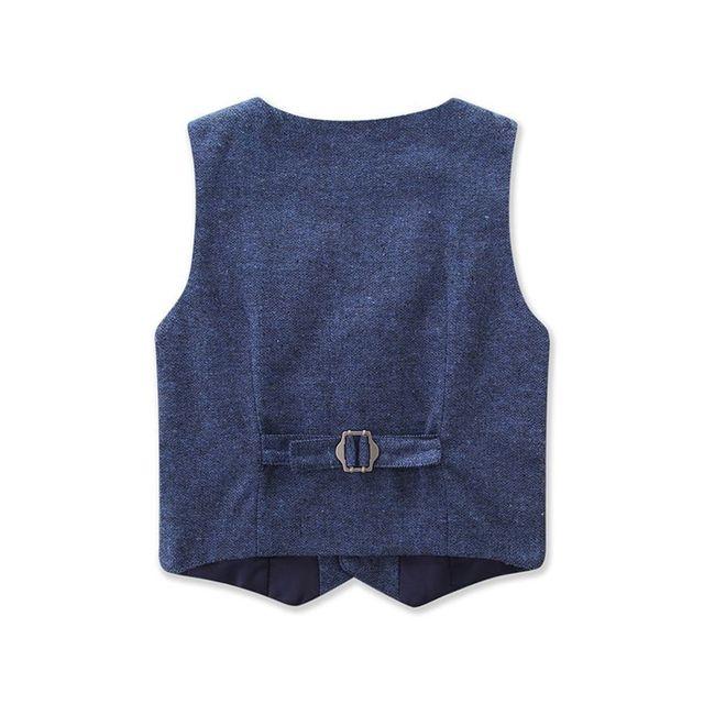 Costume 3 pièces, nouvelle collection automne, manteau + pantalon + chemise, Style britannique, éventail formel pour bébés garçons en bas âge