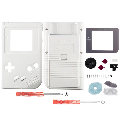 OSTENT Full Housing Shell <font><b>Case</b></font> Cover Replacement for Nintendo <font><b>GB</b></font> Game Boy Console image