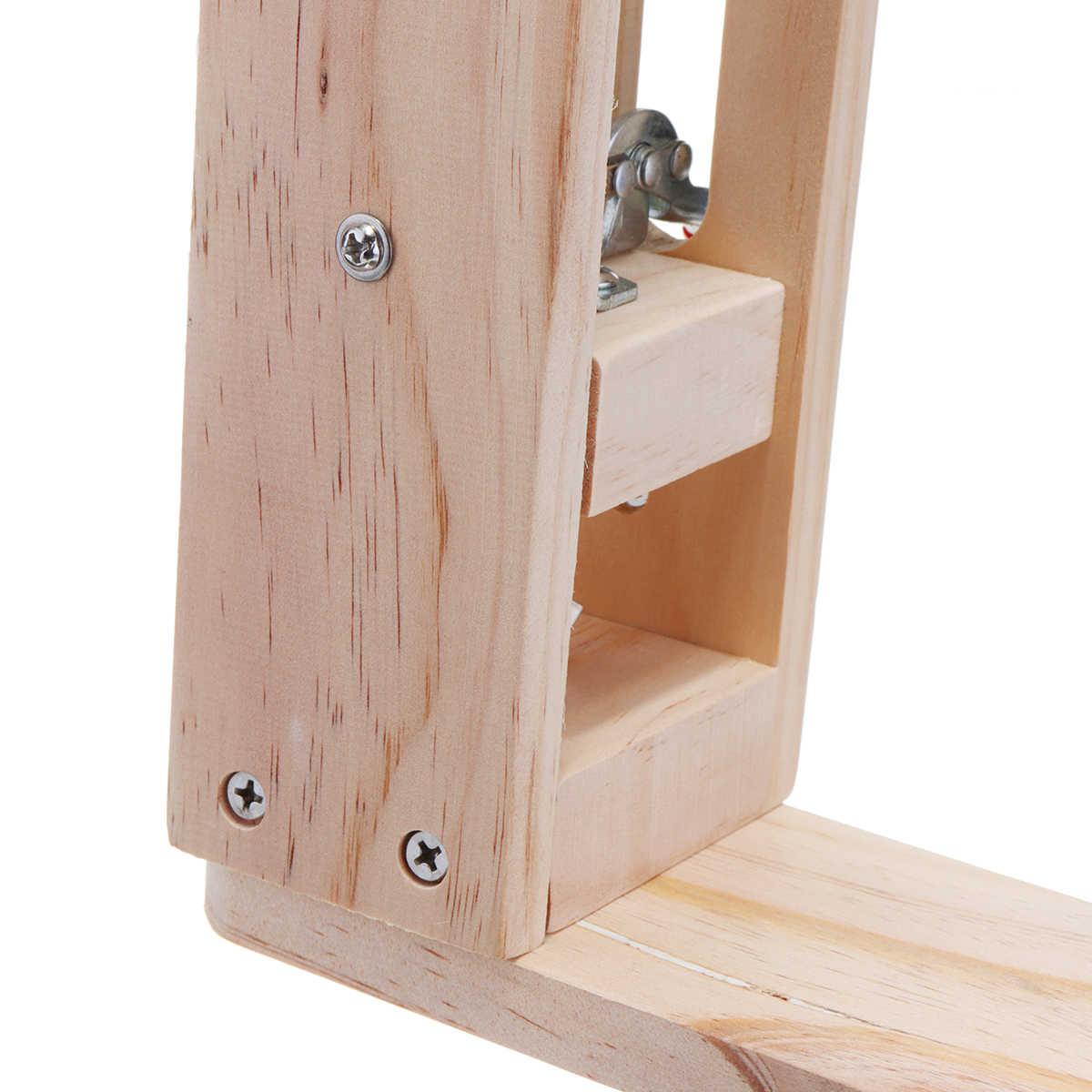 الخشب أدوات خياطة الجلود الحرفية الاحتفاظ كليب DIY أداة اليد مجموعة الجدول سطح المكتب خياطة جلد المهر الحصان المشبك أدوات