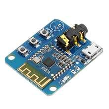 LEORY 1 pc 4.2 Bluetooth オーディオステレオモジュール高忠実度 HIFI ロスレススピーカーパワーアンプボードイヤホン修正