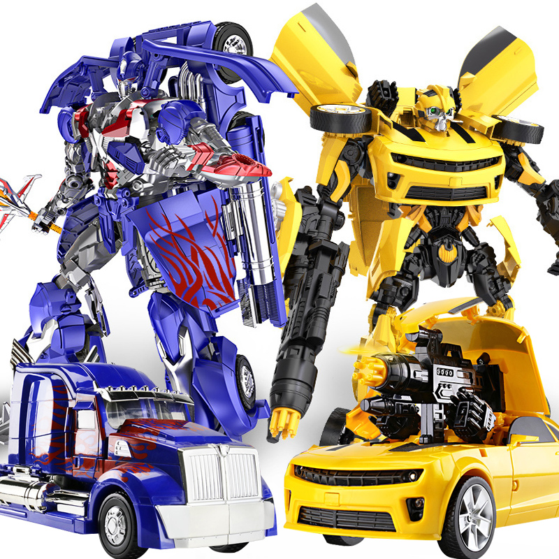 45 cm Anime action figure Transformation Robot Car Super Hero Anime Deformation Robot Model Car Kids