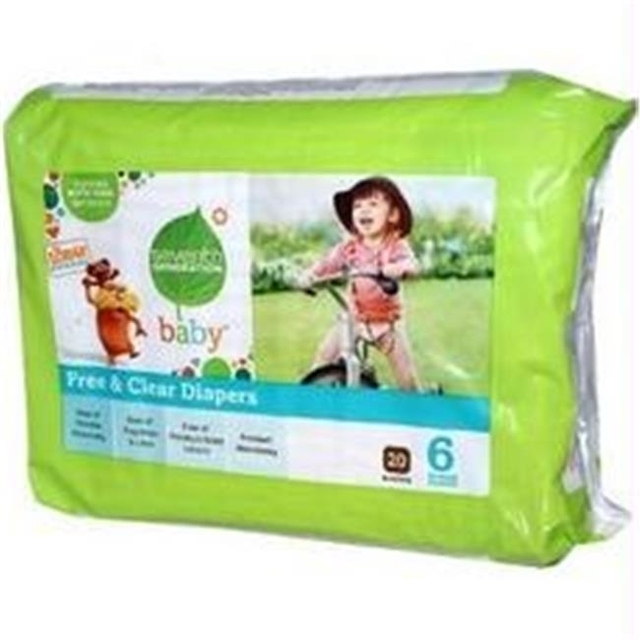 B07103 Seventh Generation 7 Gen Diapers Stage 6 2000