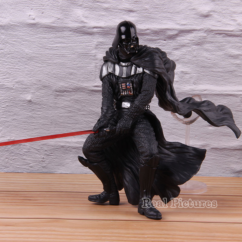 Image 2 - Darth Vader Figure Gallery Action PVC Collectible Movie Star Wars Model Toy Anakin SkywalkerAction & Toy Figures   -