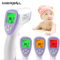 Athphy Thermometer Baby Infrared Digital LCD Forehead Ear Athphy Thermometer Baby Forehead Infrared Electric Fever Ear Kids