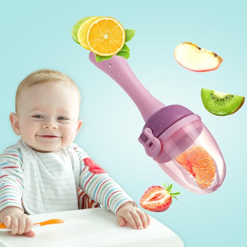 Baby Lebensmittel Frisch Obst Gemüse Mühlen Dispenser Sicherheit Baby Schnuller Flasche Frische Obst Knabber Baby Beißen Molaren Schnuller Krankheiten Zu Verhindern Und Zu Heilen Fütterung Babynahung Und Mühlen