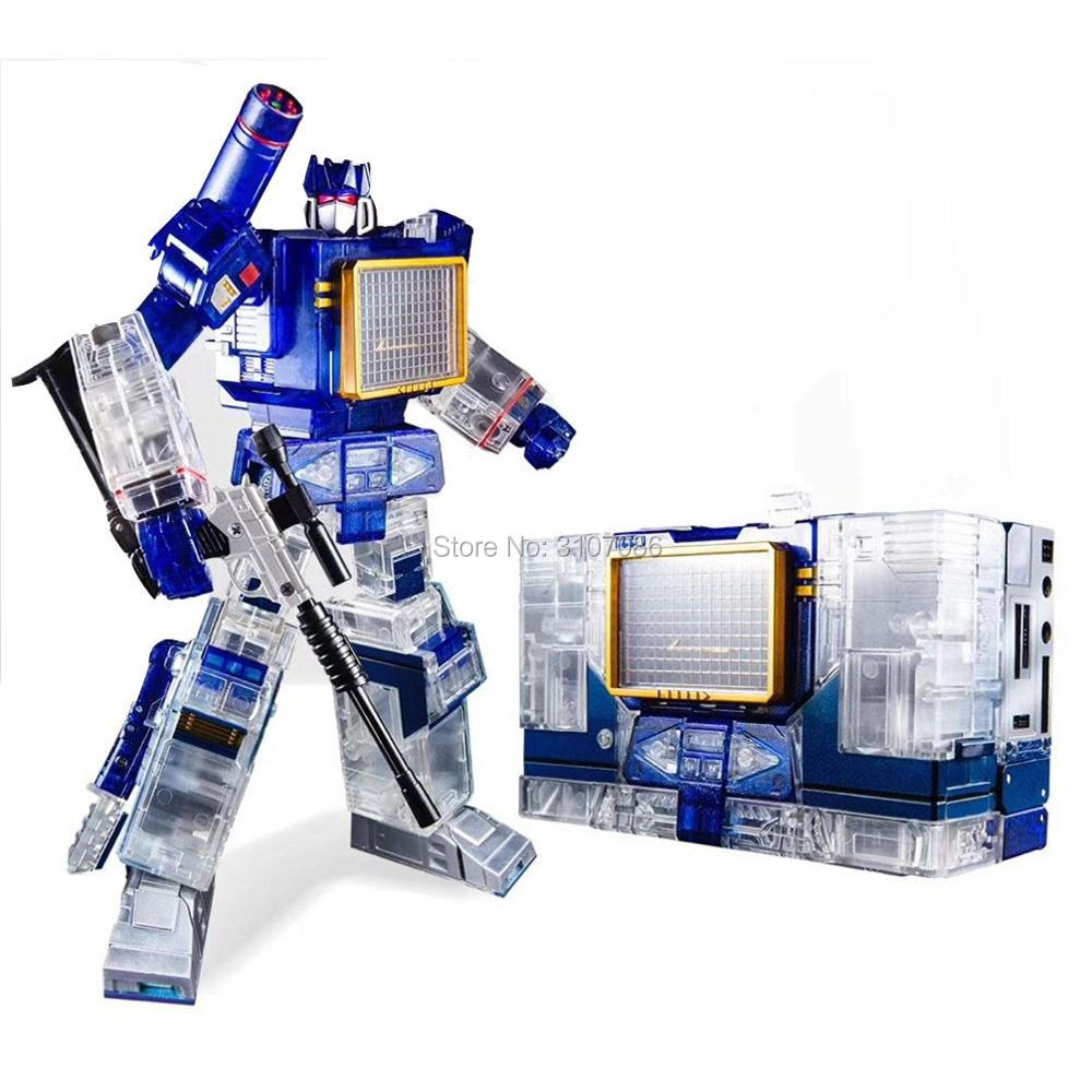 NEW Transformers THF-01 MP-13 Transparent sound wave with Two tapes 2019