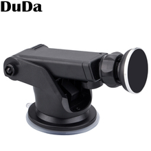 цена на Universal Round Magnetic Car Mobile Phone Stand Holder For huawei iPhone 6s 7 6 8 plus Samsung s8 xiaomi mi 9 Long Arm Mount