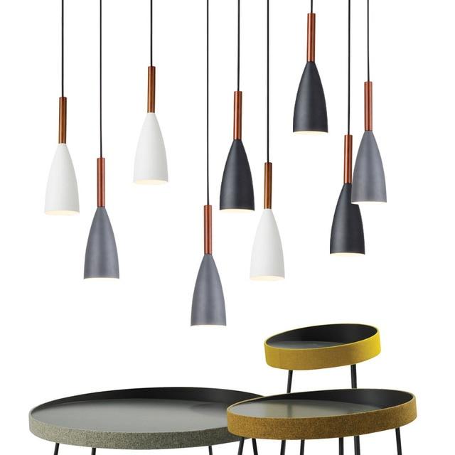 Nordlux Pendant Lights Dining Room Lamps Modern Colorful Restaurant Coffee Bar Lighting E27 Holder