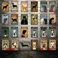 [Kelly66] собака и кошка бульдог Золотой такса металлический знак оловянный плакат домашний Декор Бар настенная живопись 20*30 см размер Dy56