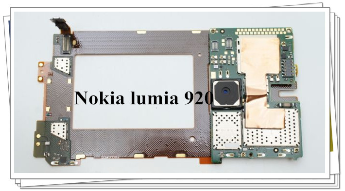 Russia language Original Chips Logic Board Motherboard For Nokia LUMIA 920 Free shipping