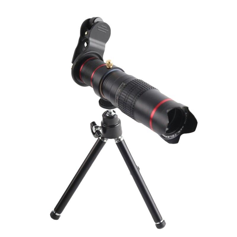 Orsda Hd 4K 22X Zoom Mobile Phone Telescope Lens Telephoto External Smartphone Camera Lenses For Iphone Samsung Huawei Phones