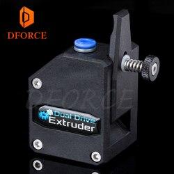 DFORCE o wysokiej wydajności wytłaczarki BMG sklonowany Btech Bowden wytłaczarki podwójny napęd wytłaczarki do 3d drukarki dla 3D drukarki MK8 w Części i akcesoria do drukarek 3D od Komputer i biuro na