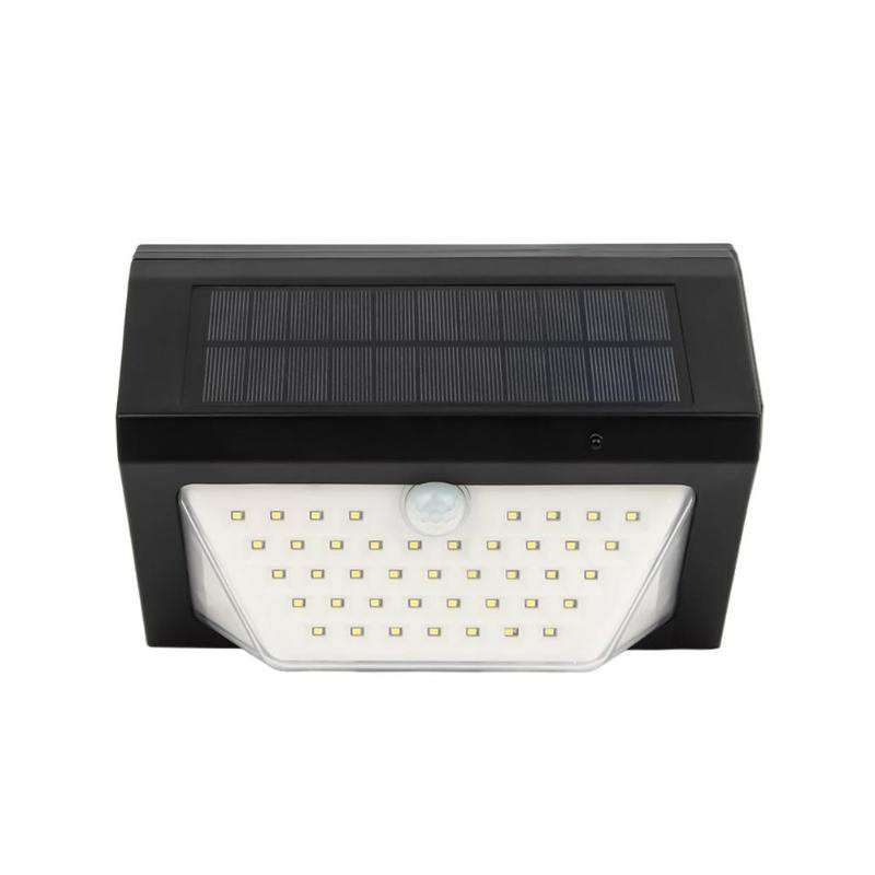 5V 80 Led Solar Light 3 Modes Rechargeable Wireless Remote Control Solar Light Alarm Lamps For Garden Wall Light