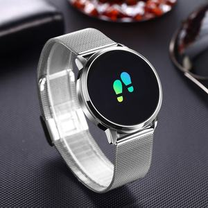 Image 5 - Upgrade BELOONG Q8 Rose Gold Smart Watch Fashion Electronics Men Women Waterproof Sport Tracker Fitness Bracelet Smartwatch