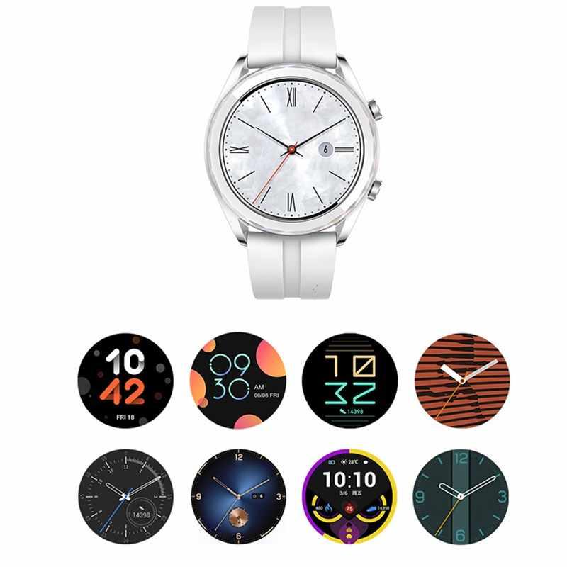 화웨이 시계 GT 스마트 시계 HD 스크린 블루투스 GPS 5ATM 방수 야외 스포츠 시계 NFC 심박수 모니터 Smartwatch