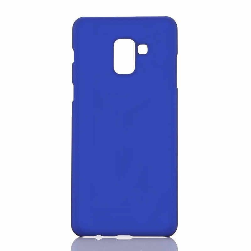 ハード Pc プラスチックケース三星銀河注 9 8 S9 S10 プラス J4 J6 A6 A8 プラス A7 2018 電話ケース裏表紙耐震 Funda
